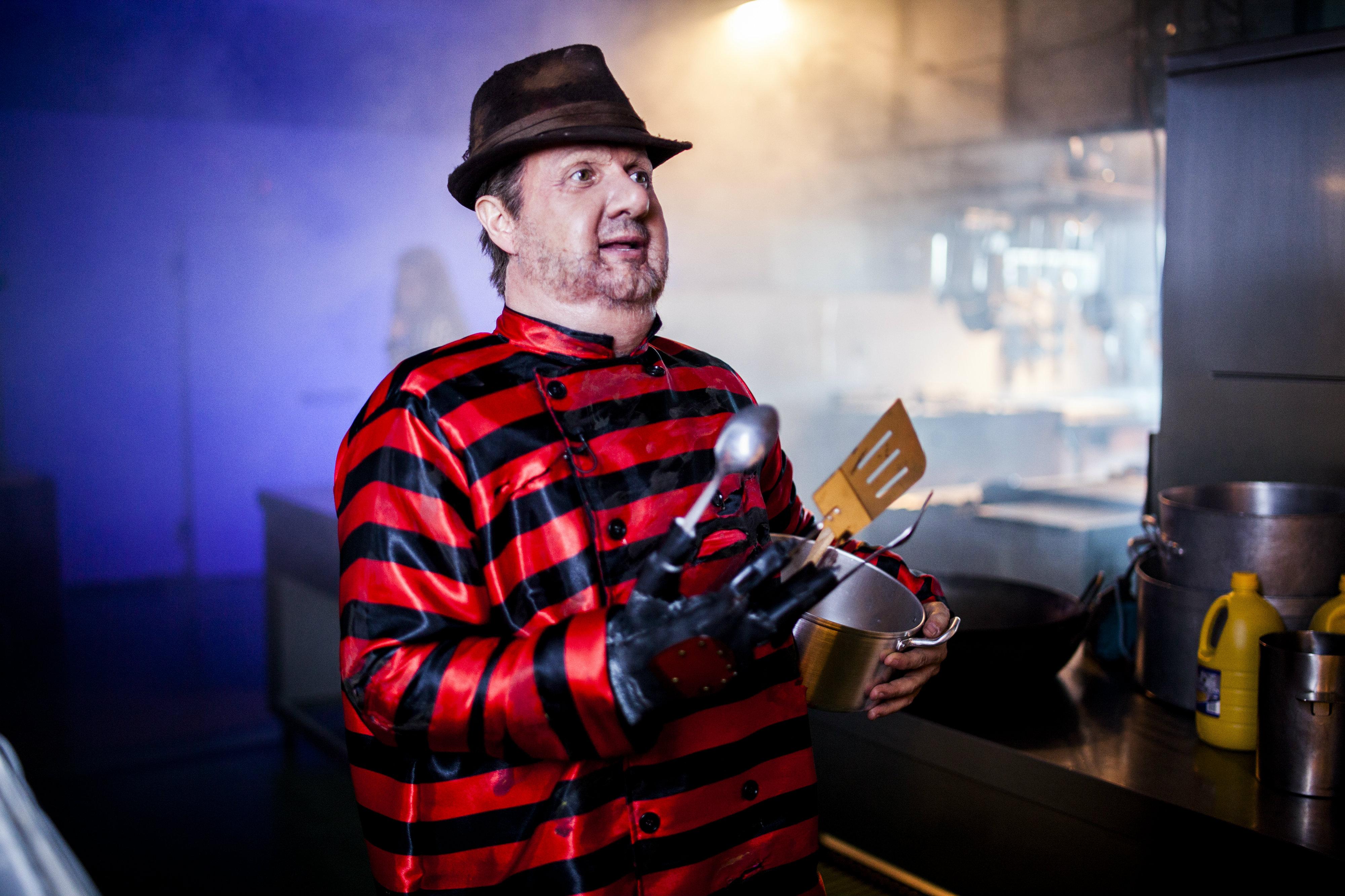Jos mota presenta 39 pesadilla en la cocina 39 thriller for Pesadilla en la cocina brasas