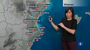 El tiempo en la Comunidad Valenciana - 01/04/15