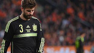 Piqué confía en que Messi pueda jugar ante el Celta