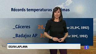 El Tiempo en Extremadura - 01/04/15