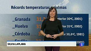 El tiempo en Andalucía - 1/04/2015