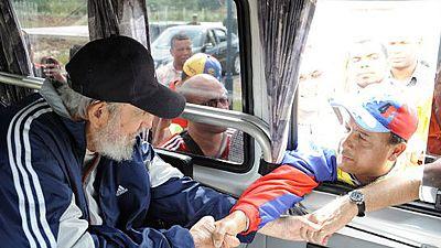 Reaparece Fidel Castro en público por primera vez en 14 meses