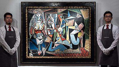 'Las mujeres de Argel' de Picasso puede batir récords en una subasta