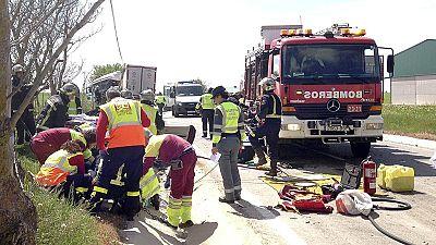 Fallecen 31 personas en las carreteras en la operación de tráfico de Semana Santa