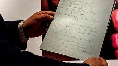 Sale a subasta el manuscrito original de la canción 'American Pie'