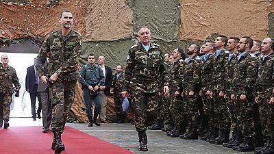 Segunda y última jornada de la visita del rey en Líbano