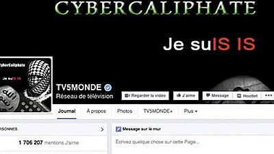 La cadena francesa TV5Monde víctima de un ciberataque reivindicado por el grupo terrorista del Estado Islámico