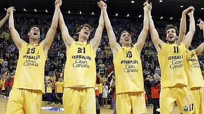 El Gran Canaria hace historia y se mete en la final de la Eurocup
