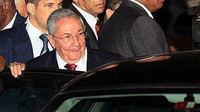 El saludo entre Barak Obama y Raúl Castro, la imagen más esperada de la Cumbre de las Américas
