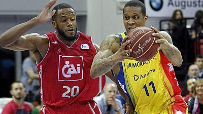El CAI Zaragoza se mantiene en los puestos de 'playoffs' al derrotar en casa al MoraBanc Andorra, con Norel y Robinson en plan estelar.