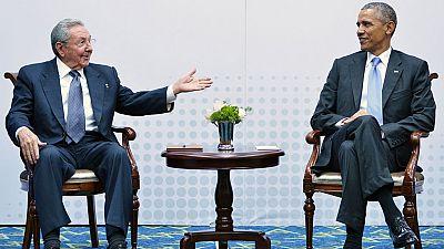 Reunión histórica de Obama y Castro para sellar el fin de la Guerra Fría