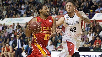 El UCAM Murcia se ha llevado la victoria en casa ante el Manresa y sigue en la lucha.