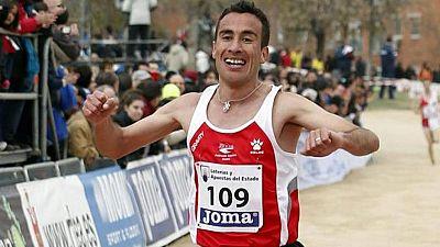 Mohamed Marhoum, campeón de España de cross, suspendido cautelarmente por dopaje
