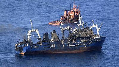 """El capitán del pesquero califica de """"error muy grave"""" la decisión de remolcarlo a alta mar"""