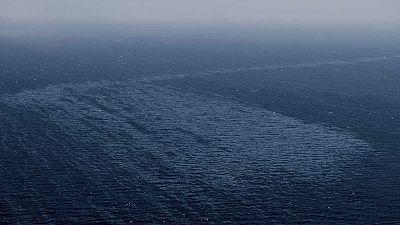 Siguen los trabajos de control del vertido del pesquero ruso hundido