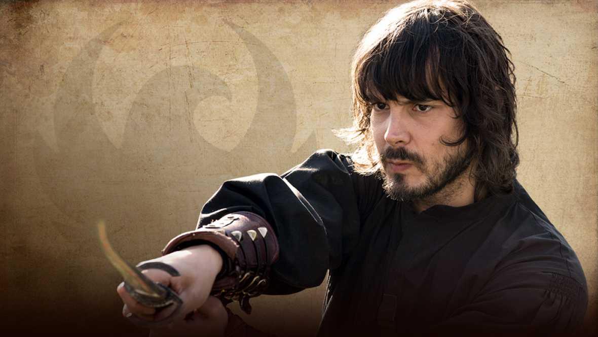 �guila Roja - As� es Gonzalo de Montalvo: interpretado por David Janer