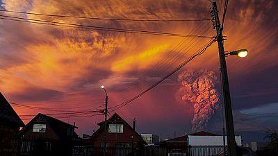 Chile decreta el estado de emergencia tras la erupción del volcán Calbuco