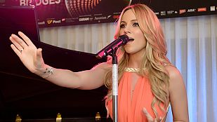 """Eurovisión 2015 - Edurne canta la versión acústica de """"Amanecer"""""""