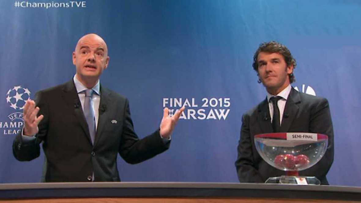 Champions League - Sorteo Semifinales de la Uefa Champions League - ver ahora