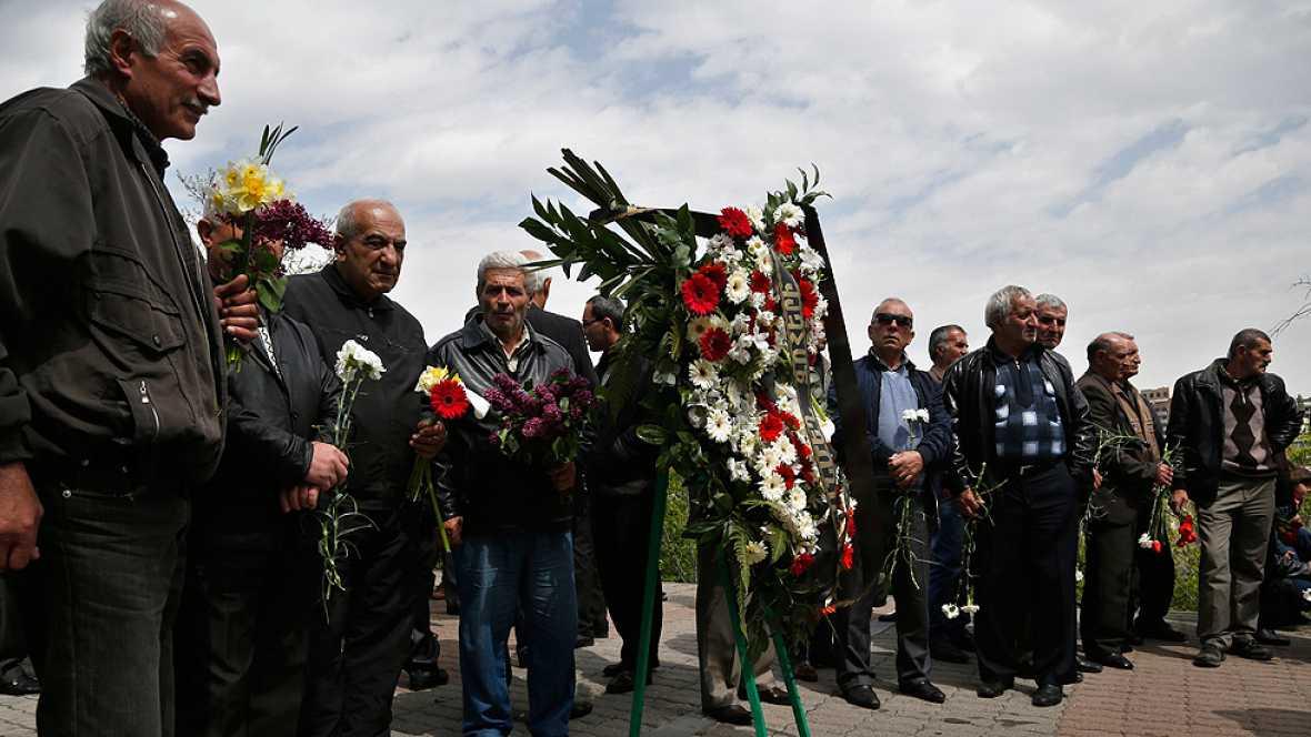 Se conmemora  el centenario de la muerte del un millón y medio de armenios a manos del imperio Otomano