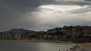 Lluvias intensas en la zona norte de la Península y Andalucía