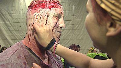 Santander se convierte en un tablero de rol lleno de zombies