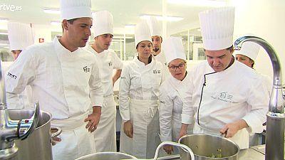 MasterChef 3 - Clase de fondos en Basque Culinary Center
