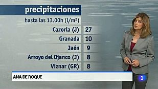 El tiempo en Andalucía - 27/04/2015