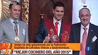 """Sergio Fern�ndez premiado como """"Mejor Cocinero 2015"""""""