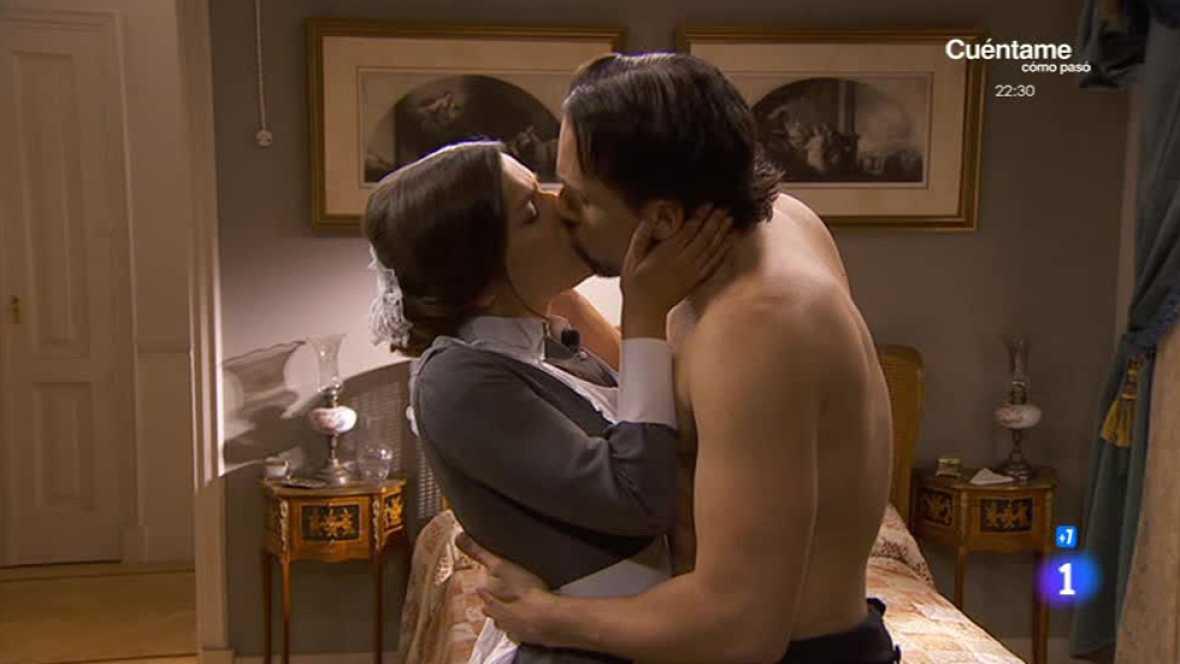 'Acacias 38' - Manuela y Germán se besan por primera vez