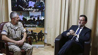 Mariano Rajoy acaba de llegar a Senegal