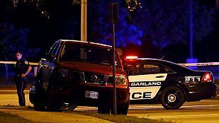 La Policía de EE.UU. mata a dos hombres que dispararon en una exposición de caricaturas de Mahoma