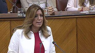 Díaz propone a todos los partidos un gran acuerdo para luchar contra la corrupción en Andalucía