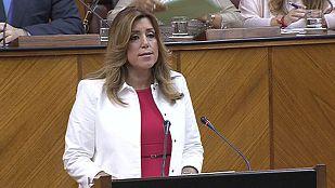 Susana Díaz propone un pacto contra la corrupción y que los delitos no prescriban