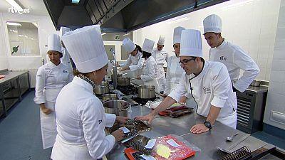 MasterChef 3 - Clase de salsas en Basque Culinary Center