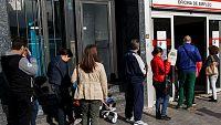 El n�mero de parados registrados baj� en 118.923 en abril y la afiliaci�n a la Seguridad Social aumenta en 175.495