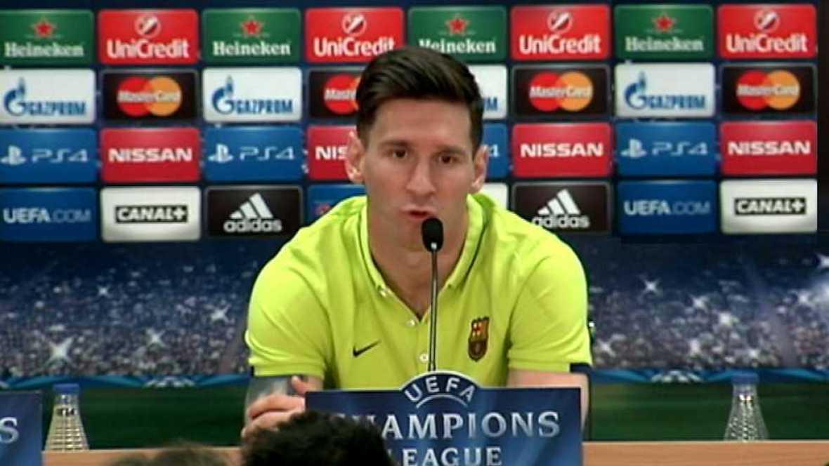 Champions League - Rueda de prensa FC. Barcelona - VER AHORA