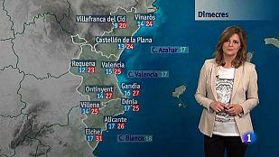 El tiempo en la Comunidad Valenciana - 05/05/15