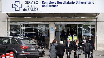 Una mujer muere acuchillada presuntamente por su marido en un hospital de Ourense