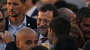 """Rajoy carga contra los """"adanes"""" de la política y dice que el PP """"no ha nacido hace media hora"""""""