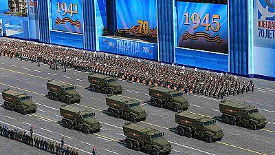 Rusia rememora los 70 años de la Segunda Guerra Mundial con un gran desfile