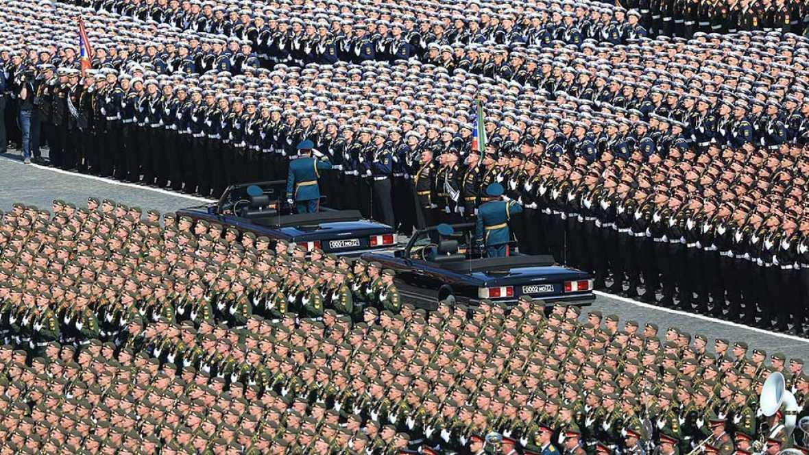 Resultado de imagen de fotos de los desfiles militares rusos