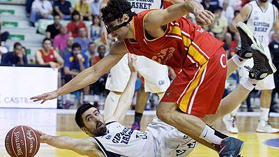 Un UCAM Murcia brillante se impuso al Gipuzkoa Basket (99-68), celebrando a lo grande su partido 600 en la Liga Endesa y manteniendo vivo su sueño por estar en el próximo Playoff