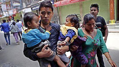 """Cooperante en Katmandú: """"Hay edificios que han comenzado a quebrarse"""""""