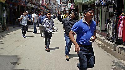 Varios muertos en un nuevo terremoto de magnitud 7,3 con epicentro en Nepal