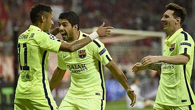 El Barcelona se mete en su octava final de Champions