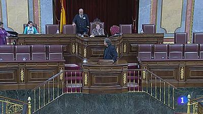 """Tardà (ERC), expulsado de la tribuna del Congreso tras llamar """"impresentable"""" a Wert por el trato al catalán"""