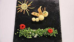 Cocina con Clan 2 - Mariposa de lenguado con rosa de tomate