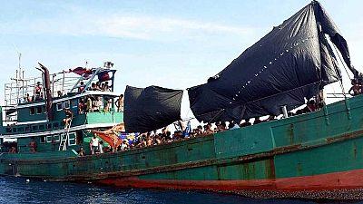 La ONU sigue con preocupación la situación de miles de inmigrantes en el Índico