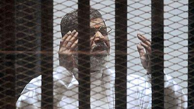 El expresidente egipcio Mohamed Morsi , condenado a muerte